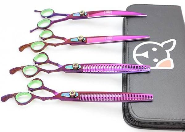Loyalty Pet Products Poison Ivy 8 Shears - Set Of 4