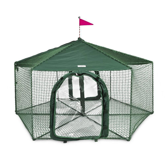 KittyWalk Gazebo Yard and Garden Outdoor Cat Enclosure - Pet Pro Supply Co.
