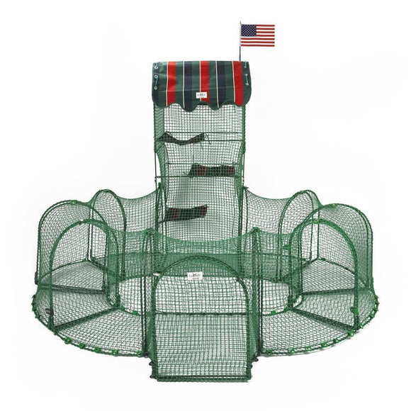 KittyWalk Grand Prix Outdoor Cat Enclosure - Pet Pro Supply Co.
