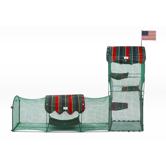 Kittywalk - Outdoor Cat Enclosure (Catio, Cat Tube); Town & Country Collection - Pet Pro Supply Co.