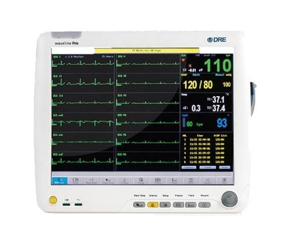 Patient Monitors - DRE Waveline Pro Multi-function Veterinary Monitor