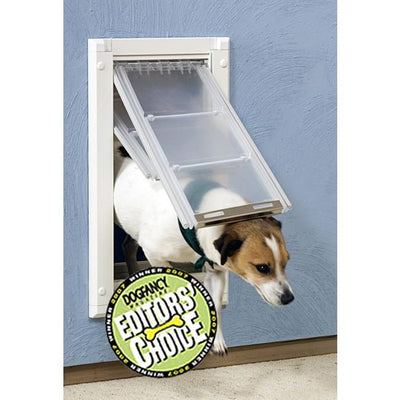 Patio Pacific Endura Flap Pet Door For Walls In Wall