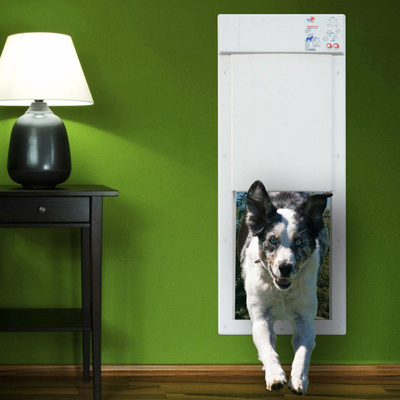 High Tech Pet Doors Automatic / Electronic Cat & Dog Door for Walls & Doors - Pet Pro Supply Co.