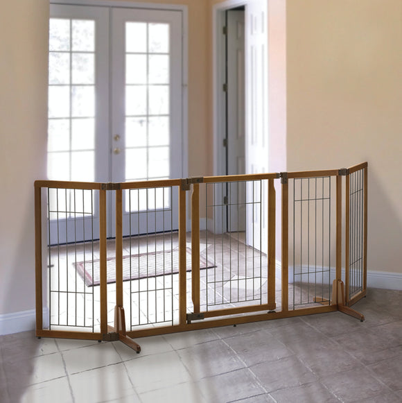 Richell Wide Premium Plus Freestanding Pet Gate - Pet Pro Supply Co.