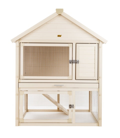 Rabbit Kennel - New Age Pet Huntington Townhouse Rabbit Hutch