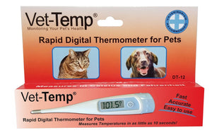 Thermometer - AMC Vet-Temp Rapid Digital Thermometer For Pets - Pet Pro Supply Co