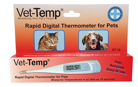 Thermometer - AMC Vet-Temp Rapid Digital Thermometer For Pets