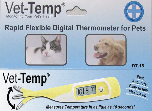 Thermometer - AMC Vet-Temp Rapid Flexible Digital Thermometer For Pets