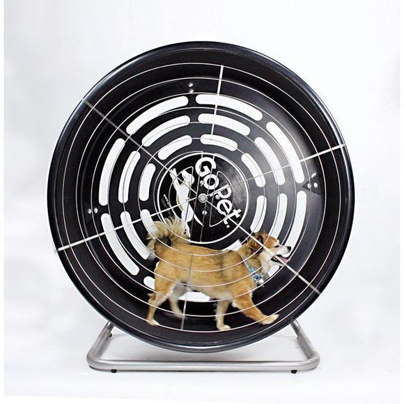 GoPet CG4012 Indoor/Outdoor Treadwheel for Small Dogs/Cats up to 25 lbs - Pet Pro Supply Co.