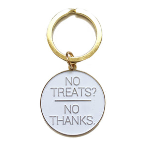 NO TREATS? NO THANKS. DOG ID TAG CHARM - Pet Pro Supply Co