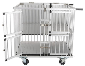 Trolley - Aeolus Dog Show Aluminum Portable Trolley (Four Berths) - Pet Pro Supply Co