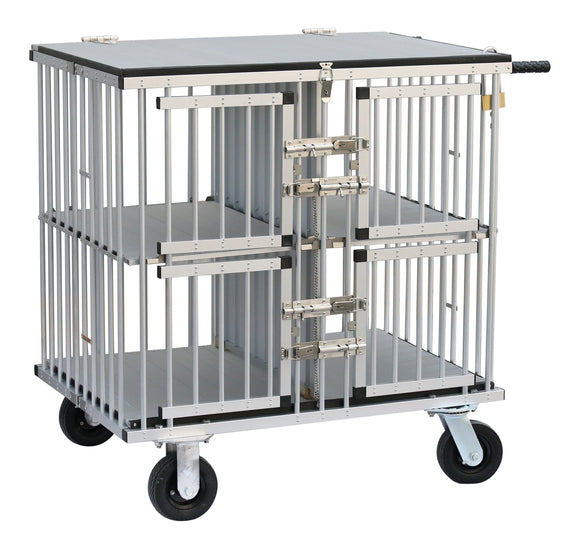 Trolley - Aeolus Dog Show Aluminum Portable Trolley (Four Berths)