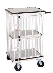 Trolley - Aeolus Dog Show Aluminum Portable Trolley (Two Berths) - Pet Pro Supply Co