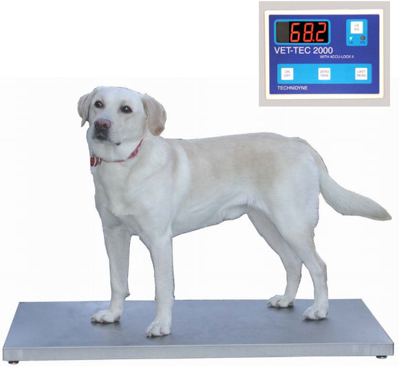 VetLine Digital Walk-On Weigh Scale - Pet Pro Supply Co.