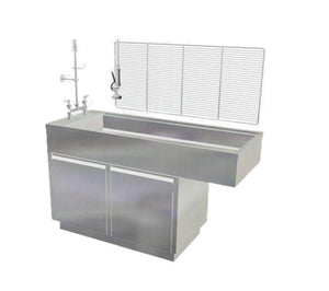 DRE All Stainless Steel Cabinet Style Veterinary Wet Table - Pet Pro Supply Co. - Pet Pro Supply Co