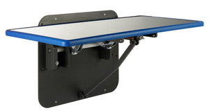 Veterinary Tables - Shor-Line BlueLine Fold-Up Wall Mount Exam Table, Lateral - Pet Pro Supply Co
