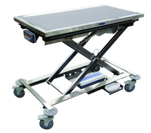 Veterinary Tables - Shor-Line Mobile Animal Lift Table With K9-W8 Scale - Pet Pro Supply Co
