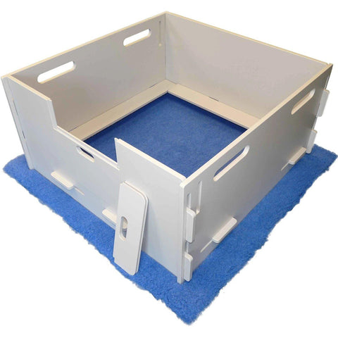 Lakeside Products MagnaBox Professional Puppy Whelping Box & Dog Birthing Pen