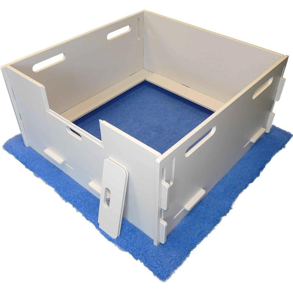 Whelping Boxes - Lakeside Products MagnaBox Professional Puppy Whelping Box & Dog Birthing Pen