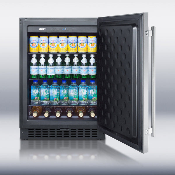 NEW!  Stainless Steel Fridge by Summit