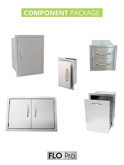 FLO Pro COMPONENT Package | Versatile Outdoor Kitchen Components