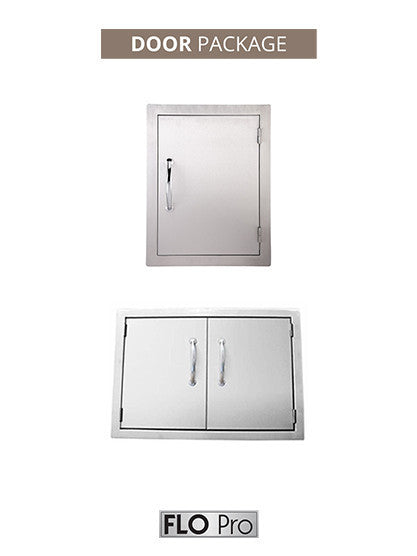 FLO Pro DOOR Package | FLO Pro Double Access Doors | FLO Pro Single Access Door