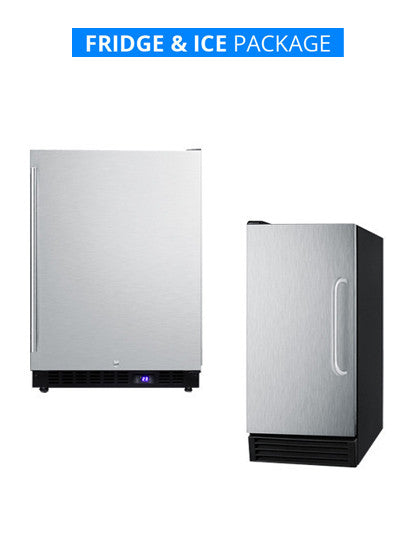ICE COLD COMBO! | FRIDGE & ICE MAKER Package | FREE Shipping!