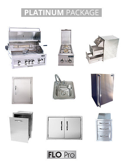 PLATINUM Package by FLO Grills | FLO Pro | Everything You Need! | FREE SHIPPING!
