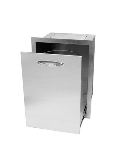 FLO Pro | Trash Drawer | Stainless Steel