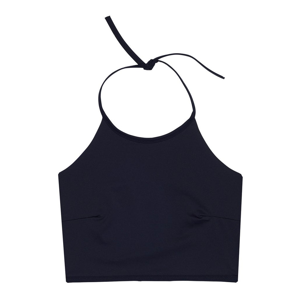 "Swimwear ""Gracetop"" I black-navy"