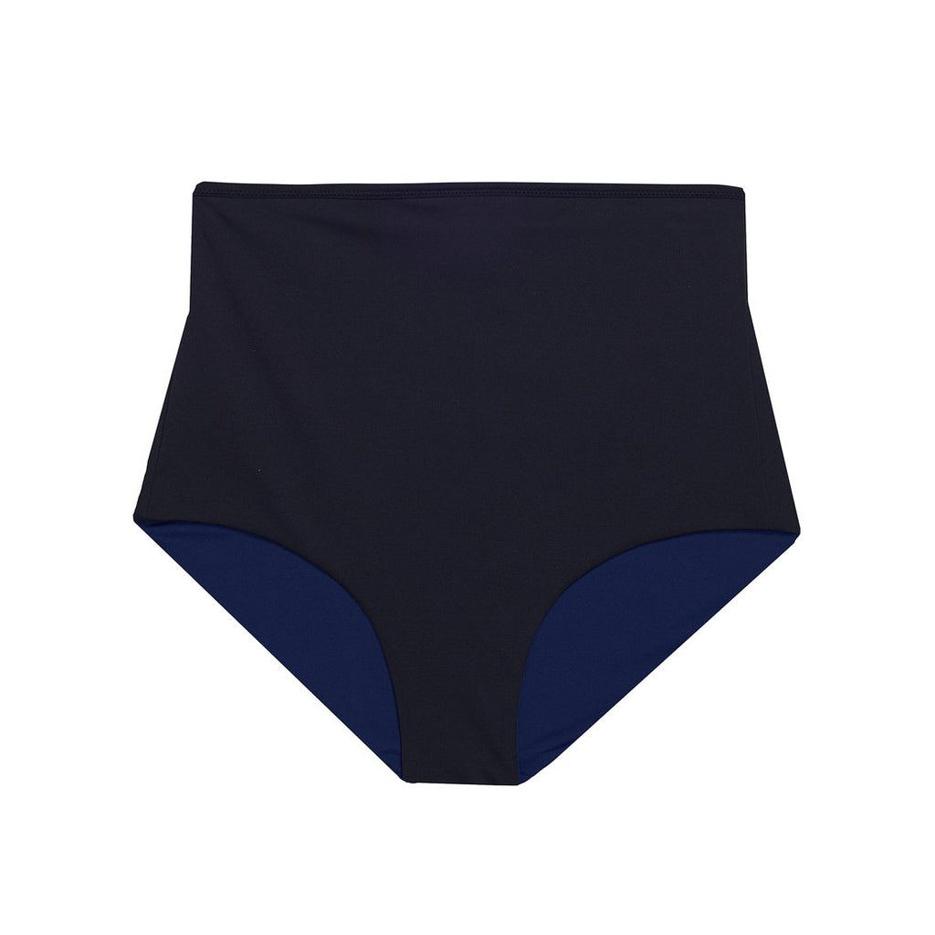 "Swimwear ""Highwaist Shorts"" I black-navy"