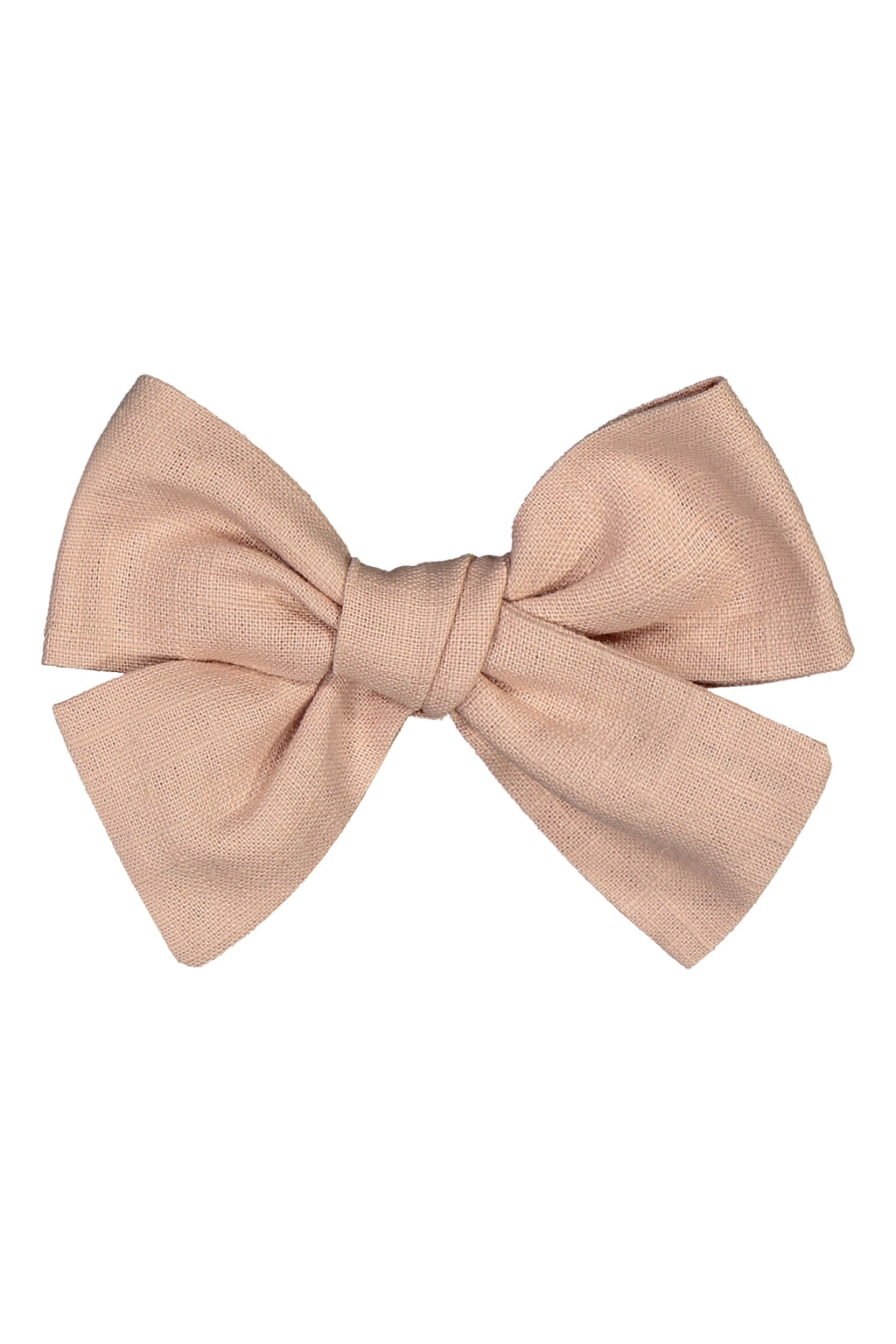"Hairclip ""Bow"" I dusty rose oder  beige oder cognac"