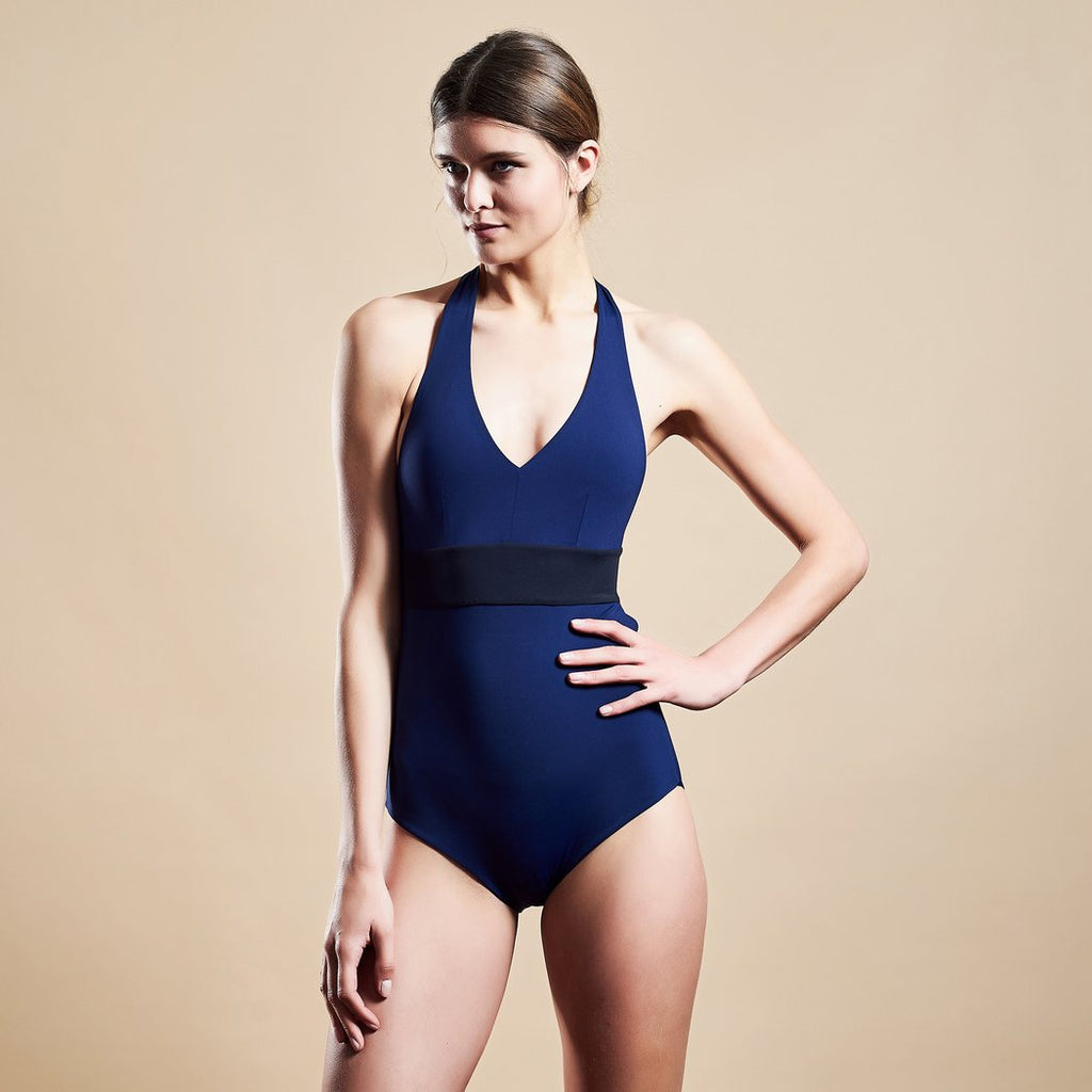 "Swimwear ""Wonderbody"" I black-navy"