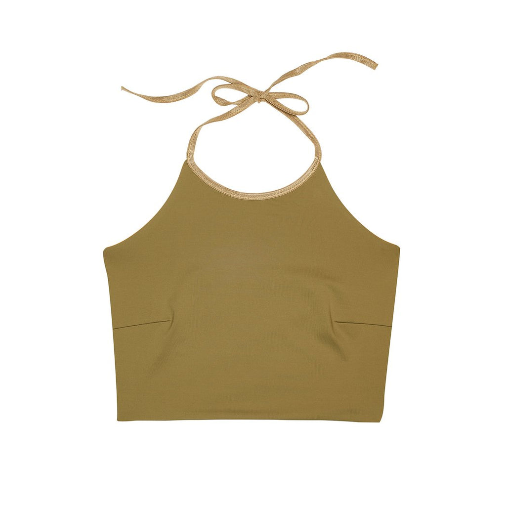 "Swimwear ""Gracetop"" I gold-clay"