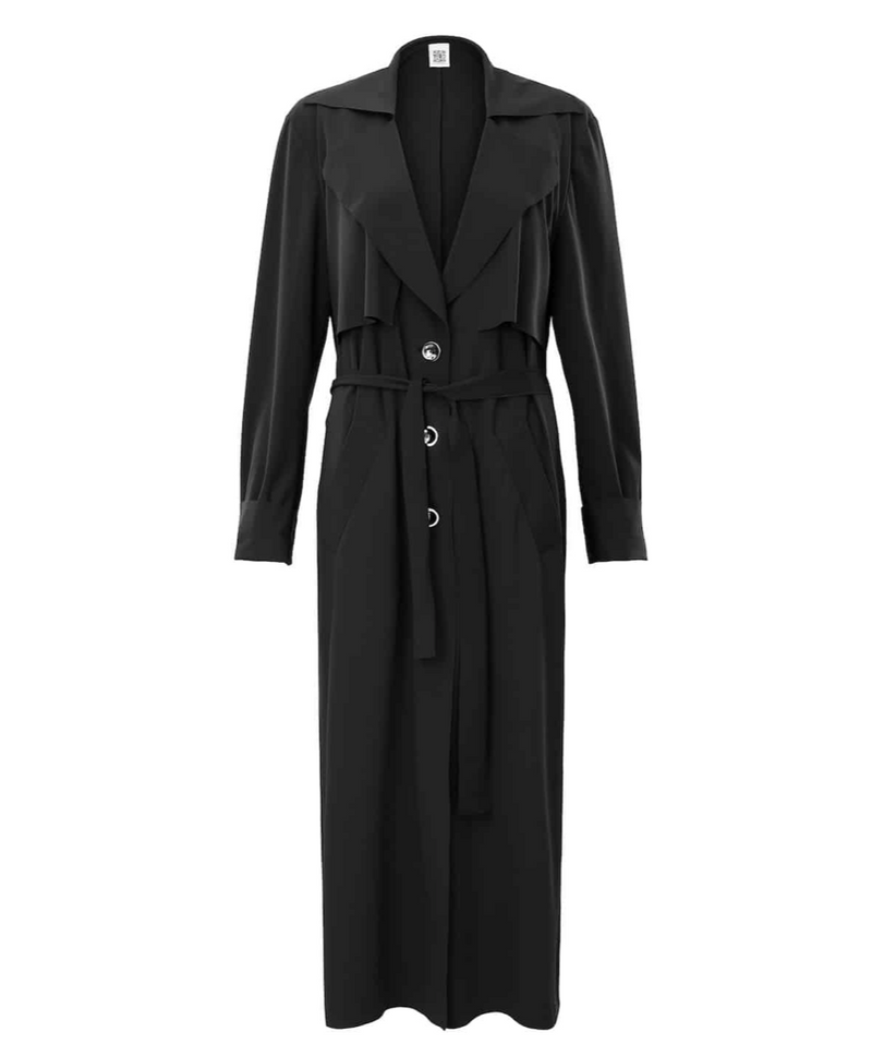 "Trenchcoat ""Lotic"" I black"