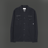 "Overshirt ""Caugth"" I black"