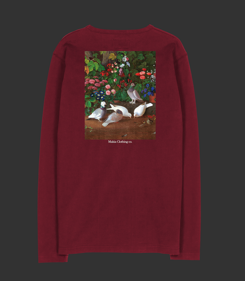"Sweater ""Pigeons"" I red"
