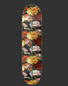 "Skateboard Deck ""Flowers"" I flowers"