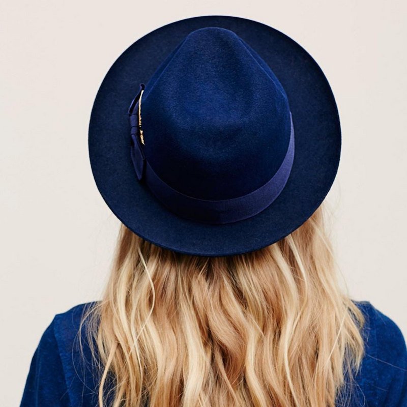 "Hut ""Fedora"" I navy"