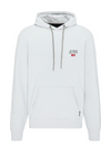 "Hoodie ""No Bad Buys"" I glacier grey"