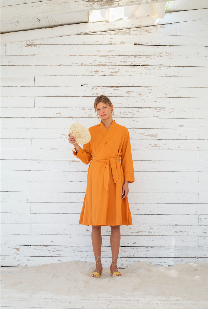 "Dress-Coat ""Noor"" I apricot"