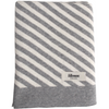 "Blanket ""Stripes"" I grey-white"