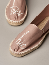 "Slipper ""Trés Chic"" I powder"