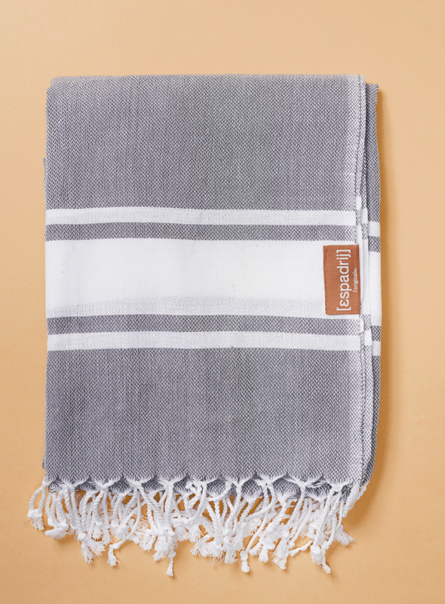 "Beach Plaid ""Gris"" I grau"