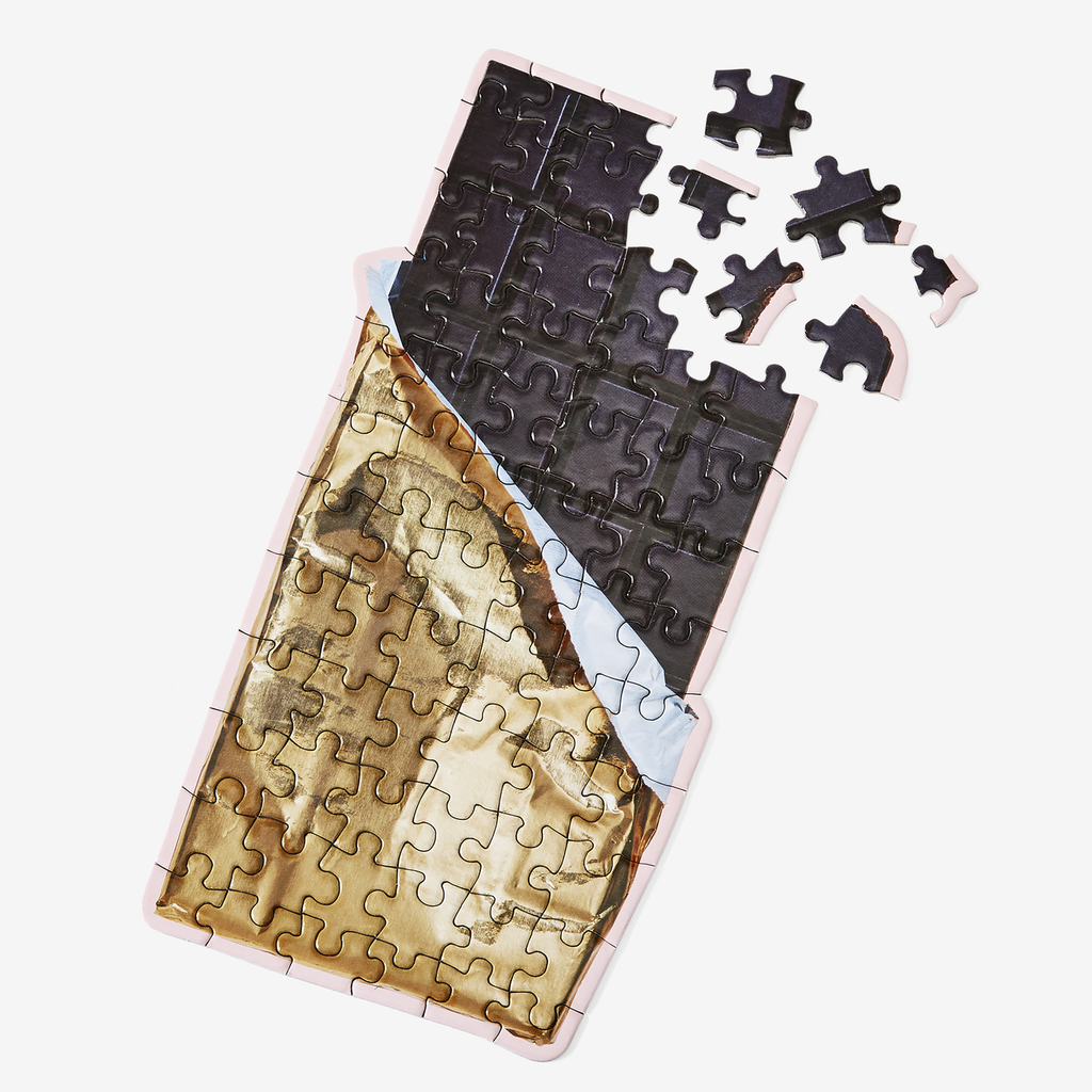 "Puzzle ""Chocolate"" I high gloss"