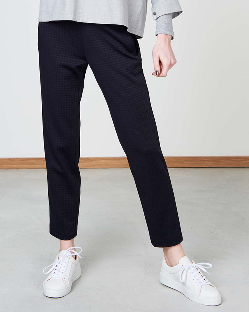 "Pants ""Derby"" I black check"
