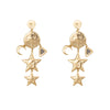 "Wild at Heart ""Aleya Earrings"" I gold"