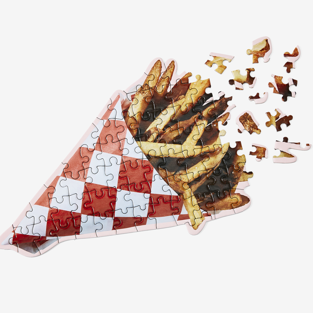 "Puzzle ""French Fries"" I high gloss"