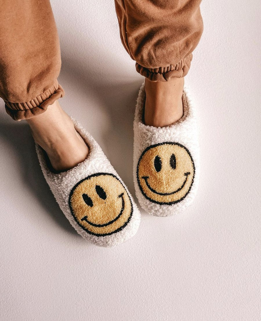 "Slippers ""Happy"" I white"