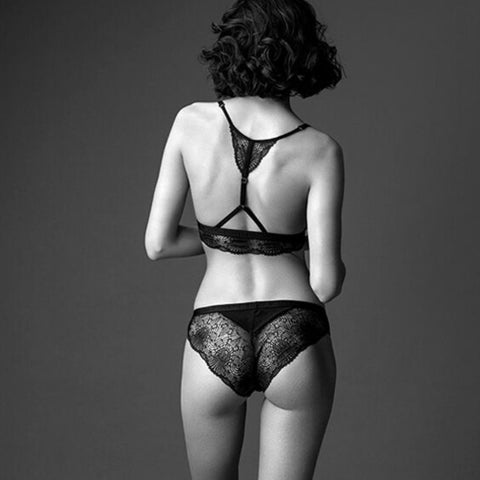 "Intimates Bra ""Meadowsweet"" I black"